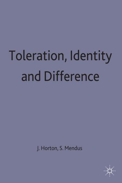 Toleration, Identity and Difference