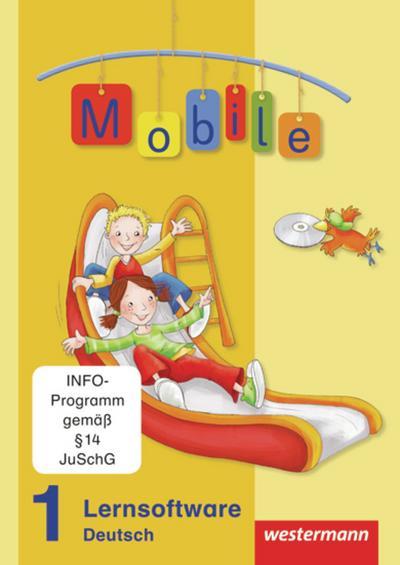 Mobile Sprachbuch, Allgemeine Ausgabe 2010 1. Schuljahr, CD-ROM