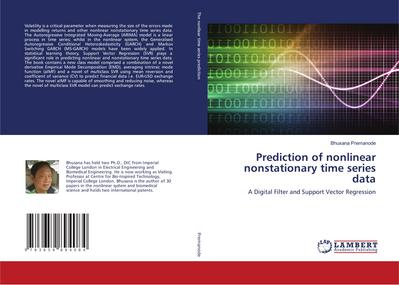 Prediction of nonlinear nonstationary time series data