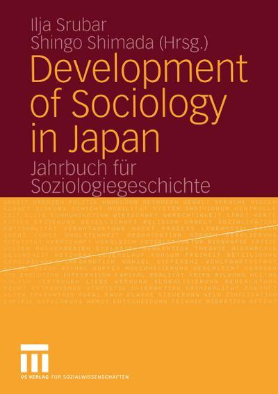 Development of Sociology in Japan