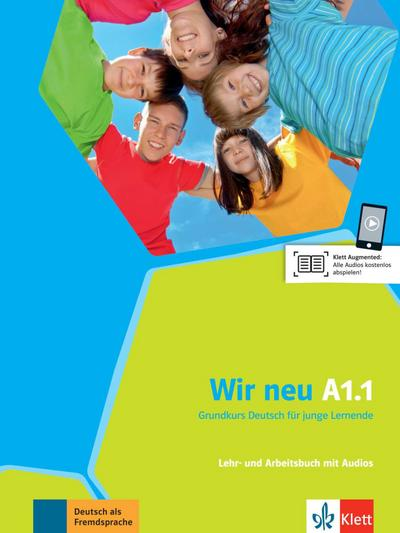 Wir neu / Lehr- und Arbeitsbuch mit Audio-CD A1.1