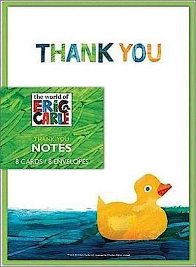 The World of Eric Carle(tm) Baby Shower Thank-You Notes