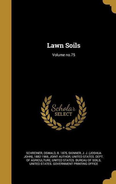 LAWN SOILS VOLUME NO75