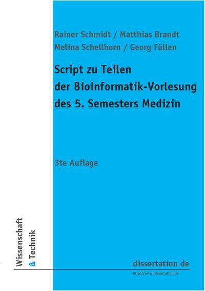 Script zu Teilen der Bioinformatik