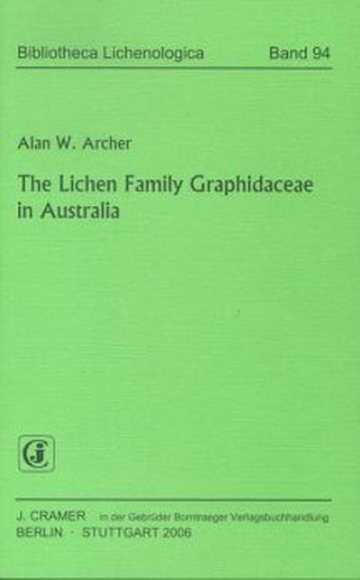 The Lichen Family Graphidaceae in Australia
