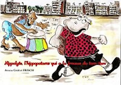Hippolyte, l'hippopotame qui a la frousse du tam-tam