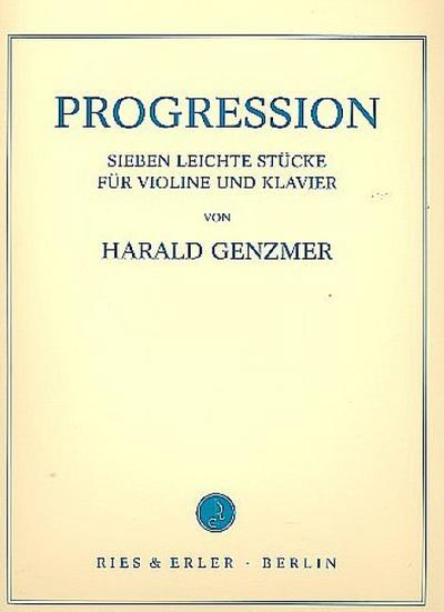 Progression 7 leichteStücke für Violine und Klavier