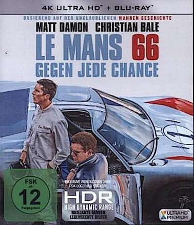 Le Mans 66 - Gegen jede Chance 4K, 1 UHD-Blu-ray + 1 Blu-ray