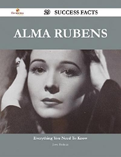 Alma Rubens 29 Success Facts - Everything you need to know about Alma Rubens