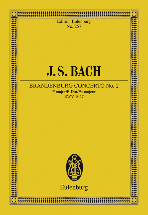 Brandenburgisches Konzert Nr. 2 F-Dur | Johann Sebastian Bac ... 9783795762650