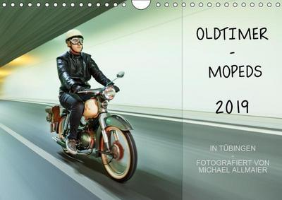 Oldtimer Mopeds - fotografiert von Michael Allmaier (Wandkalender 2019 DIN A4 quer): Oldtimer Mopeds (Monatskalender, 14 Seiten ) (CALVENDO Technologie) - Calvendo - Kalender, Deutsch, Michael Allmaier, Oldtimer Mopeds (Monatskalender, 14 Seiten ), Oldtimer Mopeds (Monatskalender, 14 Seiten )
