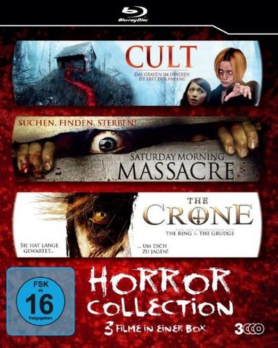 Horror-Collection [Blu-ray] - Kinokater - Blu-ray, Englisch| Deutsch, , 3 Filme in einer Box, 3 Filme in einer Box