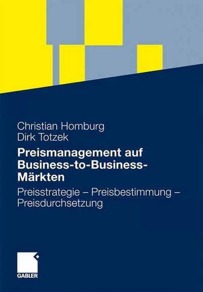 Preismanagement auf Business-to-Business-Märkten
