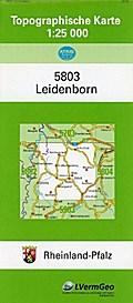 Leidenborn 1 : 25 000