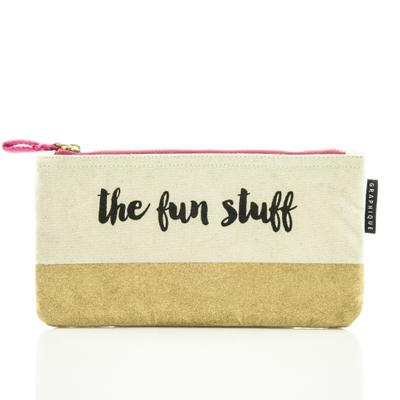 Zip Pouch: The Fun Stuff - Modischer Reißverschlussbeutel