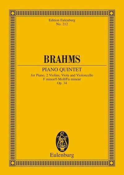 Klavierquintett f-Moll