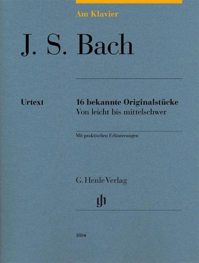 Am Klavier - J. S. Bach