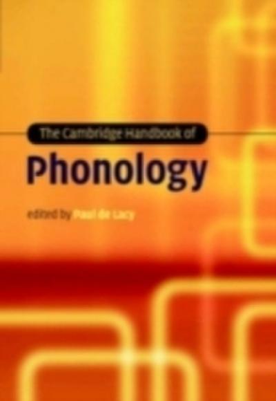 Cambridge Handbook of Phonology