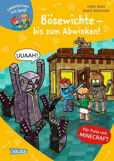 Lesenlernen mit Spaß - Minecraft 5: Bösewichte - bis zum Abwinken!