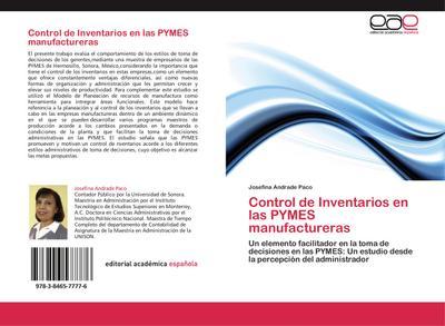 Control de Inventarios en las PYMES manufactureras