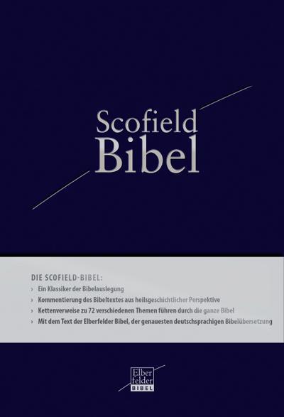 Bibel - Elberfelder Bibel: Scofield-Bibel