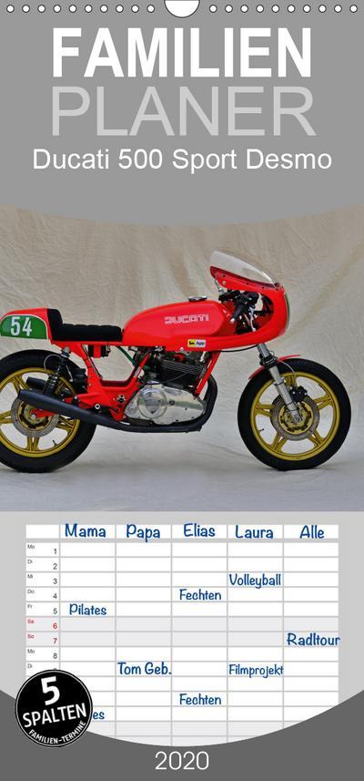 Ducati 500 Sport Desmo - Familienplaner hoch (Wandkalender 2020 , 21 cm x 45 cm, hoch)