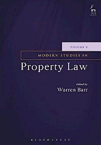Modern Studies in Property Law - Volume 8