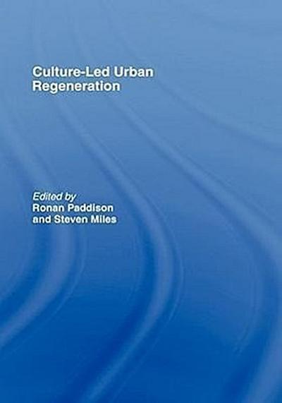Culture-Led Urban Regeneration