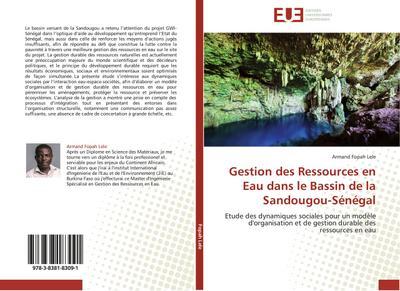 Gestion des Ressources en Eau dans le Bassin de la Sandougou-Sénégal