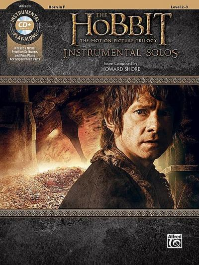 The Hobbit -- The Motion Picture Trilogy Instrumental Solos: Horn in F, Book & CD