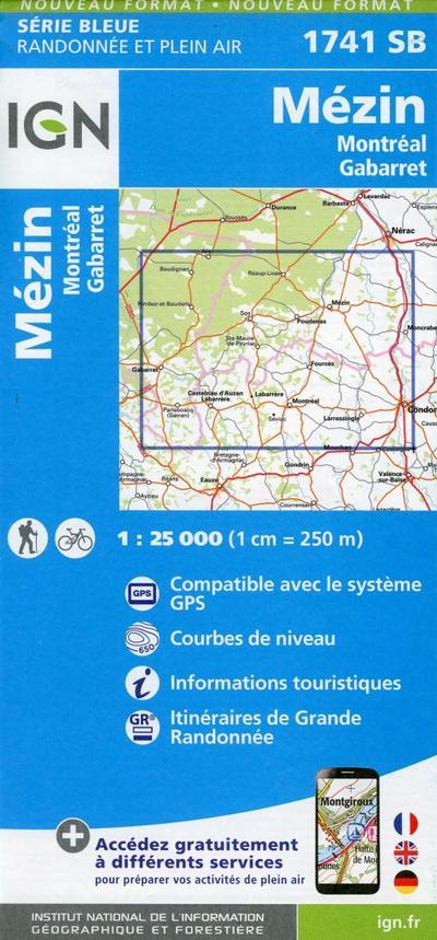 Mezin Montreal 1:25 000
