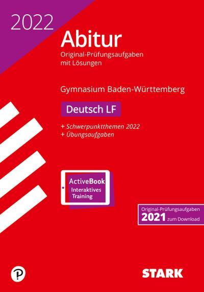 STARK Abiturprüfung BaWü 2022 - Deutsch Leistungsfach