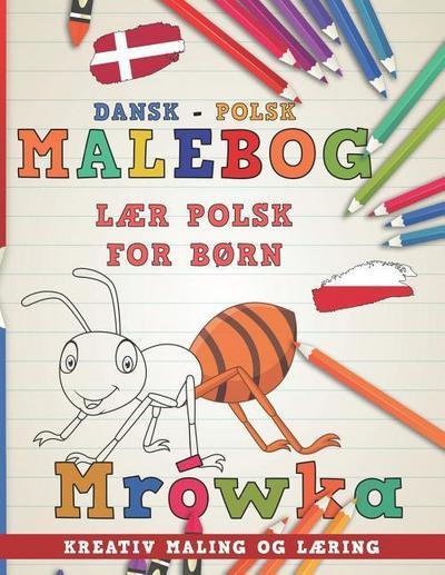 Malebog Dansk - Polsk I L