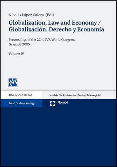 Globalization, Law and Economy / Globalización, Derecho y Economía