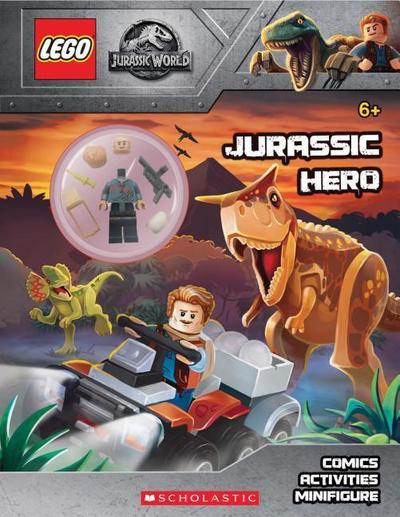 Jurassic Hero (Lego(r) Jurassic World: Activity Book with Minifigure)