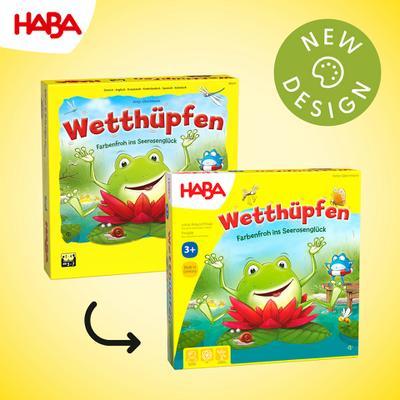 HABA Wetthüpfen (Kinderspiel)