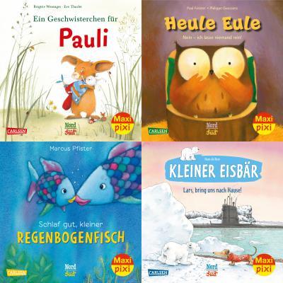 Maxi-Pixi-Serie Nr. 79: Bilderbuch-Stars bei Maxi Pixi (4x5 Exemplare)