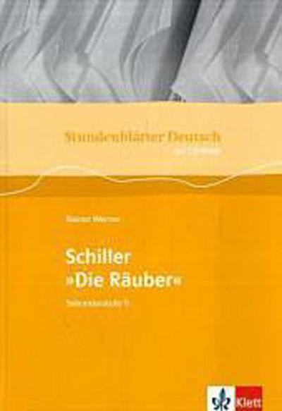 Stundenblätter Deutsch. Die Räuber. Mit CD-ROM