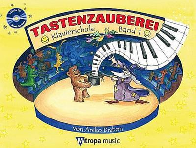 Tastenzauberei, m. Audio-CD. Bd.1