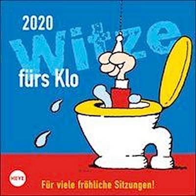 Witze fürs Klo 2020 17,5x17,5cm