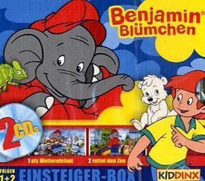 Benjamin Blümchen, Einsteiger Box, 2 Audio-CDs
