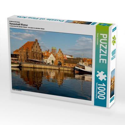 Ein Motiv aus dem Kalender Hansestadt Wismar (Puzzle)