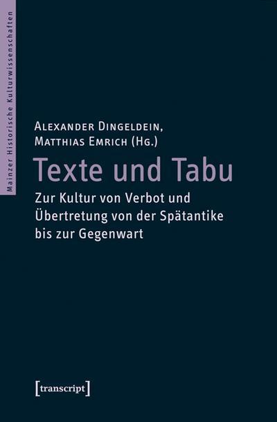Texte und Tabu