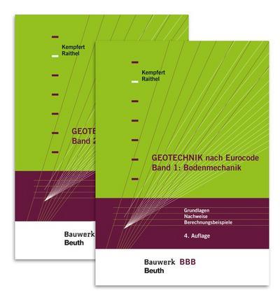 Geotechnik nach Eurocode Paket