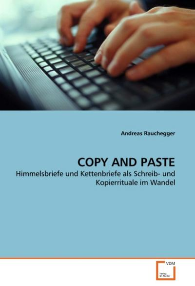 COPY AND PASTE - Andreas Rauchegger