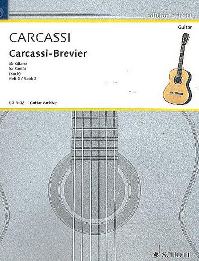 Carcassi-Brevier Band 2 - ausgewählte Werkefür Gitarre