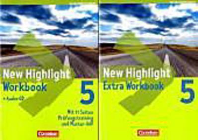 New Highlight 5: 9. Schuljahr. Werkrealschulen (5 Wochenstunden). Workbook mit Lieder-/Text-CD. Baden-Württemberg.