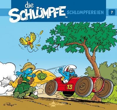 Die Schlümpfe - Schlumpfereien. Bd.7