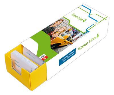 Vokabel-Lernbox zum Schulbuch. Green Line 4. G8. Klasse 8