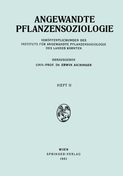 Angewandte Pflanzensoziologie